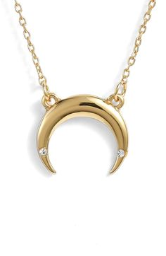 287743462 Free shipping and returns on Uncommon James by Kristin Cavallari Crescent  Necklace at Nordstrom.com