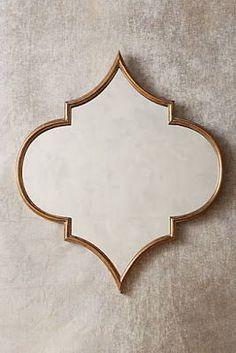 Quartet Mirror by Anthropologie in Brown, Wall Decor - Bohemian Home Diy Window Pane Mirror, Mirror Mirror, Mirror Hanging, Mirror Bedroom, Wall Mirrors, Mirror Ideas, Morrocan Decor, Moroccan Mirror, Moroccan Style Bedroom