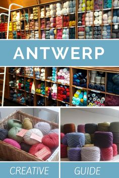 Antwerp, Belgium. Want to visit Antwerp in Belgium? You should! It's a great and creative place. Find the best creative addresses in this creative travel guide to Antwerp.