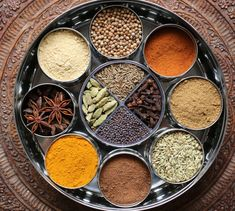 Last year I decided to invest in a simple tool found in virtually every home in India. I bought a masala dabba or Indian spice box, a simple yet clever way to organize spices. A round stainless ste…