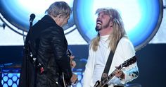 Flashback: Rush Jam '2112' With Foo Fighters at Hall of Fame #headphones #music #headphones