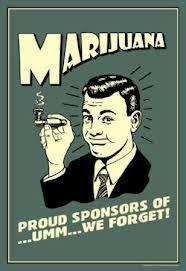 marihuana vintage -