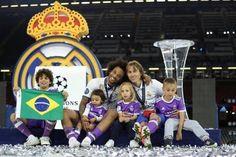 Cardiff 2017 Real Madrid Marcelo & Luka Modric