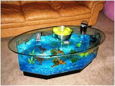 41 Best Fish Tank Table Images Water Animals Marine Life Exotic Fish
