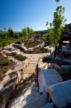 Check out our Salt Lake City and Park City, Utah landscape design, patio decks, outdoor kitchens, custom paving and outdoor lighting photo gallery. Landscape Pavers, City Landscape, Landscape Design, Backyard Pavers, Patio, Salt Lake City, Park City, Outdoor Lighting, Outdoor Spaces