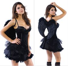 Sexy Dark Angel Costume