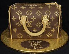 Louis Vuitton Bag Cake