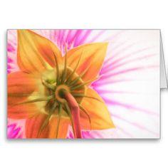 Star Bloom ~ Greeting Card