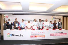 Dhanuka Realty Limited Launches its IPO today at Radisson Blu Jaipur on Emerge Platform of National Stock Exchange. Prospectus Offer Document was launched by Shri Gopal Gupta (Chairman, CREDAI Rajasthan, Shri Anurag Sharma (President, CREDAI Rajasthan), Shri Sunil Jain (Secretary, CREDAI Rajasthan), Shri Suresh Agarwal (President, FORTI), Shri Ashok Agarwal (President, TODAR), Shri Prateek Jain (Director, Hem Securities)