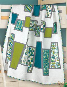 """Bouncing Wedges"" by Jacquie Gering (from Quilt Trends Summer 2012 issue)"