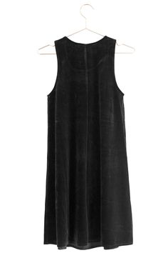 """Velvet dresses are perfect for that instant dose of """"fancy.""""Dimensions:Small measures 16"""" in width, 33.5"""" in length.Medium measures 17"""" in width, 34"""" in length.Large measures 18"""" in width, 34.5"""" in length.Details: Velvet."""