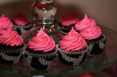 pink and black adult cakes - Google Search