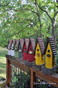 """""""The Garden House"""" Rebecca's Bird Gardens"""