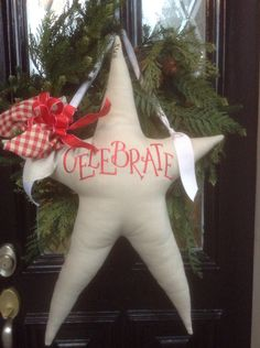 CELEBRATE star pillows may be ordered with Cindyjaegerdesigns@hotmail.com in the color of your choice