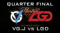 VGJ vs LGD Quarter Final Manila Masters 2017 CN Highlights Dota 2