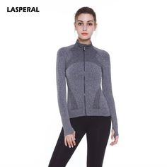 LASPERAL 2017 Fitness Women Candy Color Autumn Zippered Women Running Jacket Athleisure Coat Outerwear Coat Female Cardigan Top