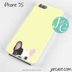 Cute French Bulldog Yellow Phone case for iPhone 4/4s/5/5c/5s/6/6 plus