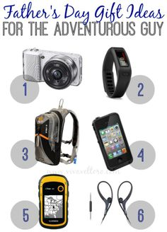 Ad: Have an adventurous guy to shop for this Father's Day? Check out these great gift ideas!