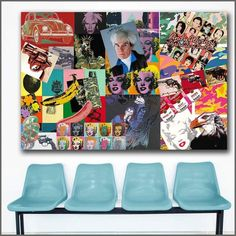Pop Art Inspiration Canvas 😍 Are you an avid pop art fan? So are we! 😋 Save this pin and discover more from Pretty Big Canvas, the canvas store you need for your home 🖼️ With over 💯 different paintings by famous pop art artists like Andy Warhol and Roy Lichtenstein, you can be sure to find what you're looking for to decorate your living space with style 😎 And that's not the best part! 😄 Click to shop to see what great discounts are availab Famous Pop Art Artists, Artists Like, Abstract Canvas Wall Art, Canvas Home, Big Canvas, Roy Lichtenstein, Wall Prints, Andy Warhol, Art Pieces