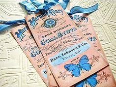 Vintage Homemade Gift Tags