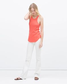ZARA - WOMAN - RIB TEE SHIRT