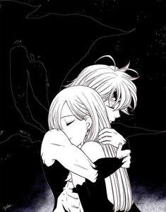 Meliodas and Elizabeth Liones Seven Deadly Sins Anime, Elizabeth Seven Deadly Sins, 7 Deadly Sins, Meliodas And Elizabeth, Elizabeth Liones, Cosplay Anime, Anime Meliodas, Otaku Anime, Manga Anime
