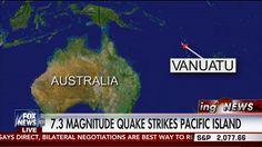 Earthquake : Powerful 7.3 Earthquake strikes the Pacific Islands of Vanu...