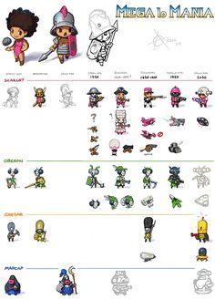 itchstudios PSG  Character design