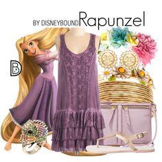Rapunzel by Disney Bound Disney Bound Outfits, Princess Outfits, Disney Dresses, Disney Clothes, Princess Clothes, Disneyland Outfits, Prom Dresses, Rapunzel Outfit, Disney Rapunzel