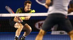 Andy #Murray in his semi final against Roger Federer - Australian Open 2013 #tennis #ausopen