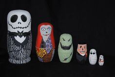 Jack Skellington and nesting dolls are cool!