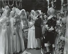Original, vintage photo of Jeanette MacDonald and Nelson Eddy in I Married An Angel (1942) - ESCANO COLLECTION