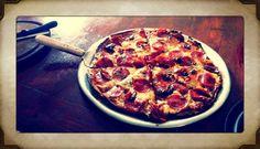 Pizza portrait.