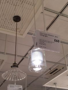 John Lewis light - can come as pendant A3, John Lewis, Ceiling Lights, Canning, Lighting, Pendant, Home Decor, Decoration Home, Room Decor