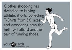 You know you're a runner when . . .