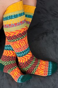 I helped make these sold out. Fair Isle in Cotton is Love for your feet.