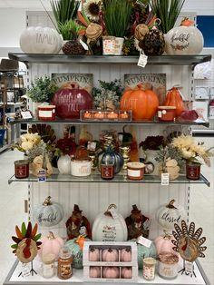 Marshalls, Visual Merchandising, Tj Maxx, Harvest, Pumpkin, Table Decorations, Home Decor, Pumpkins, Decoration Home