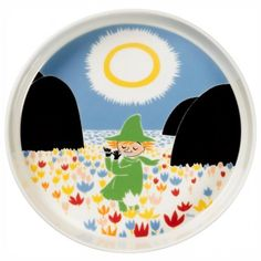 Moomin Friendship Serving Platter 26 cm by Arabia - The Official Moomin Shop - 1 Christmas Wishlist 2016, Moomin Shop, Tove Jansson, Acid Trip, Cool Mugs, Plates And Bowls, Serving Platters, Holiday Fun, Flower Pots