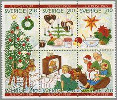 ◙ Sweden, Postage Stamp, 1989. ◙