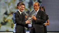 """#Messi: """"Este premio es importante y me pone contento que me haya tocado ganarlo""""."""