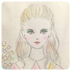 この画像は「心を奪う♡あの子可愛い//の条件って何?ree*roseeさんの絵から研究。」のまとめの11枚目の画像です。