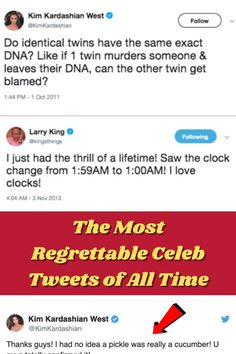 #Most #Regrettable #Celeb #Tweets #All #Time