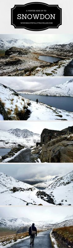 Find Your Epic: A Winter Hike up the Miners' Track - The one thing that trumped everything else we did in Snowdonia was our Winter Hike up the Miners' Track to Mount Snowdon.