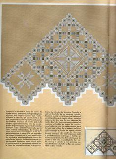 Gallery.ru / Фото #19 - 18 - Auroraten Types Of Embroidery, Embroidery Needles, Hand Embroidery Designs, Diy Embroidery, Cross Stitch Embroidery, Embroidery Patterns, Crochet Doily Patterns, Doilies Crochet, Bookmark Craft