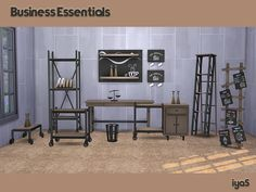 Sims 4 CC's - The Best: Business Essentials by Soloriya