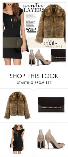 """""""3. .YOINS http://yoins.me/1PrM4be"""" by selmir ❤ liked on Polyvore featuring moda, women's clothing, women's fashion, women, female, woman, misses, juniors, slipdress y yoins"""