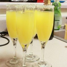 """Holiday Mimosa 