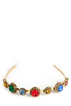 oscar de la renta fall 2012 jeweled headband... yes please