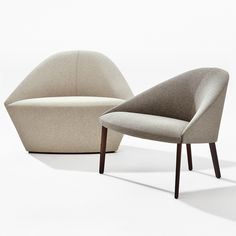 Colina M Sled Base Armchair Arper Lounge Chairs