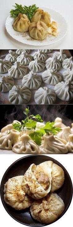 Как приготовить вкусные хинкали / Простые рецепты   Пельмени, вареники, манты   Постила